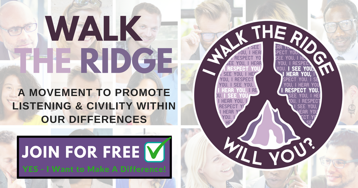 Image result for walk the ridge logo