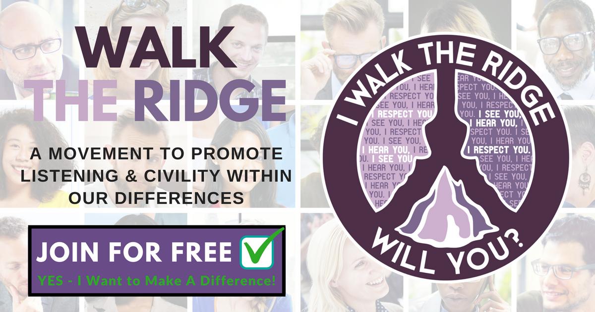 Image result for walk the ridge logo